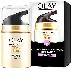 Parfumuri și produse cosmetice Cremă de noapte pentru fermitatea pielii - Olay Total Effects Anti-Edad Night Moisturiser