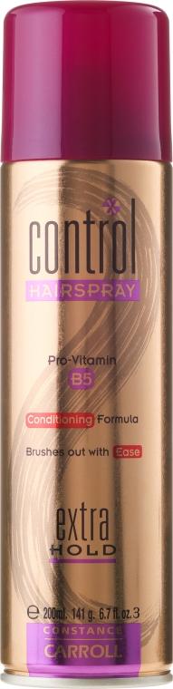 Lac fixativ de păr extra puternic - Constance Carroll Control Hair Spray Extra Hold — Imagine N3