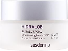 Cremă hidratantă pentru față - SesDerma Laboratories Hidraloe Moisturizing Face Cream — Imagine N2