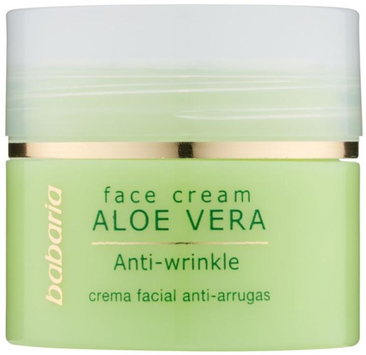 Cremă cu aloe vera pentru față - Babaria Aloe Facial Wrinkle Cream