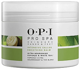 Parfumuri și produse cosmetice Balsam emolient pentru picioare - O.P.I ProSpa Skin Care Hands&Feet Intensive Callus Smoothing Balm