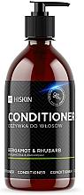 """Parfumuri și produse cosmetice Balsam cu ioni de argint """"Bergamot și Rubarbă"""" pentru păr - HiSkin Bergamot & Rhubarb Conditioner"""