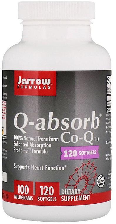 "Suplimente alimentare ""Coenzima Q10"" capsule moi de gelatină - Jarrow Formulas Q-Absorb 100 mg"