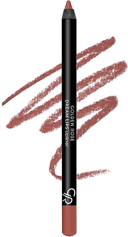 Set pentru buze - Golden Rose Matte LipKit Warm Sable (lipstick/5.5 ml + lipliner/1.4g) — Imagine N2