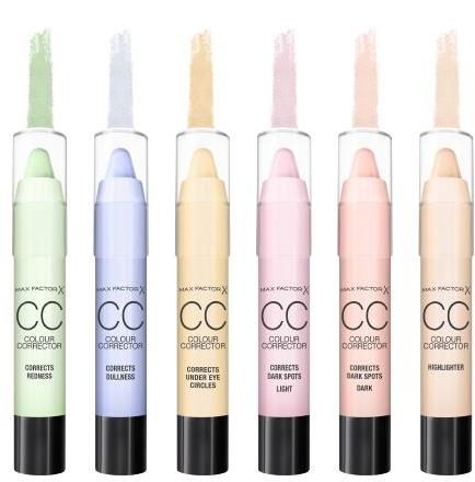 Corector de față - Max Factor CC Colour Corrector Corrects Under Eye Circles Yellow — Imagine N2