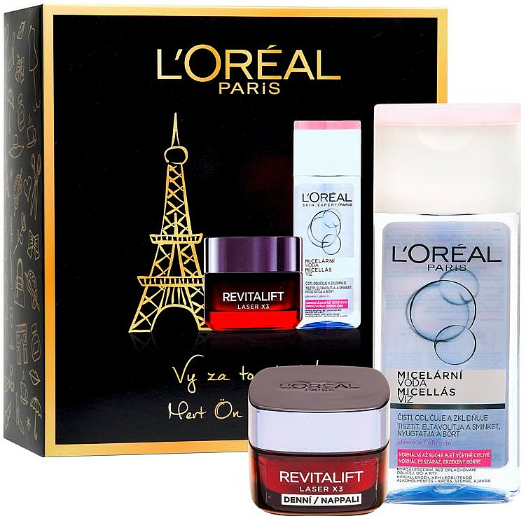 Set - L'Oreal Paris Revitalift Kit (cr/50ml + micellar/200ml) — Imagine N1