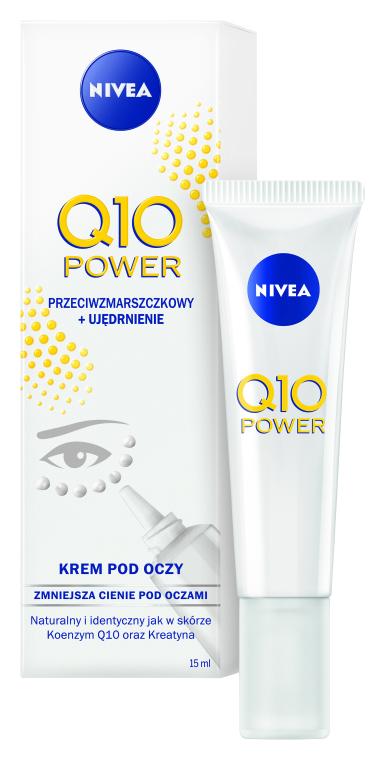 Cremă antirid pentru conturul ochilor - Nivea Visage Anti Wrinkle Q10 Plus Eye Cream — Imagine N1