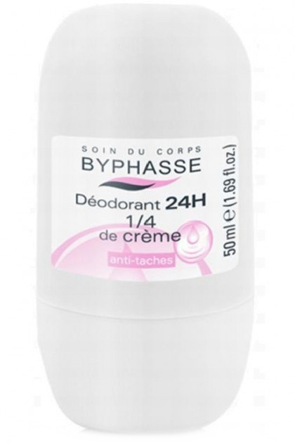 Deodorant roll-on - Byphasse 24h Deodorant 1/4 of Cream