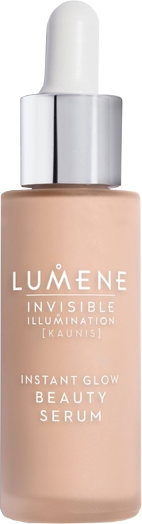Ser lichid de îngrijire cu efect de tonifiere - Lumene Invisible Illumination Instant Glow Beauty Serum — Imagine N1