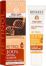 Parfumuri și produse cosmetice Ser pentru față - Revuele Retinol Face Smoothing Serum Moisturise Tone Hydrate Lift Firm Skin