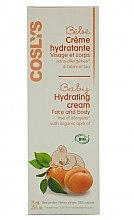 Parfumuri și produse cosmetice Cremă pentru copii - Coslys Baby Care Baby Hydrating Creamwith Organic Apricot Oil
