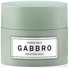 Parfumuri și produse cosmetice Ceară pentru păr, fixare puternică - Maria Nila Minerals Gabbro Fixating Wax