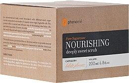 Parfumuri și produse cosmetice Scrub pentru corp - Phenome Pure Sugarcane Nourishing Deeply Sweet Scrub