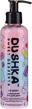 "Parfumuri și produse cosmetice Gel revigorant de duș ""Ice Berry"", cu dozator - Dushka Sweet Desserts Ice Berry Shower Gel"