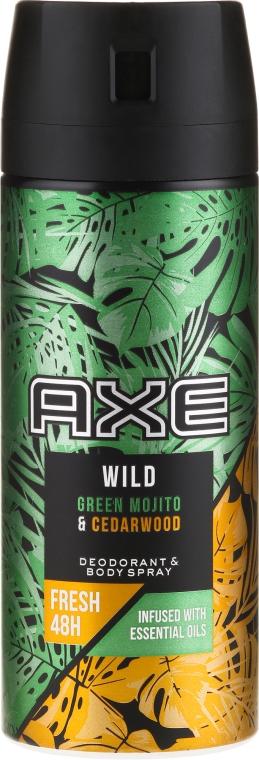 Deodorant - Axe Wild Green Mojito & Cedarwood
