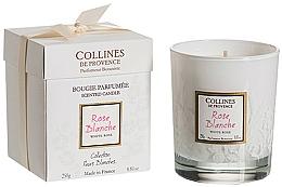 "Parfumuri și produse cosmetice Lumânare parfumată ""White Rose"" - Collines De Provence White Rose"
