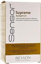 Parfumuri și produse cosmetice Soluție pentru păr vopsit și aranjare chimică - Revlon Professional Sensor Perm-Supreme