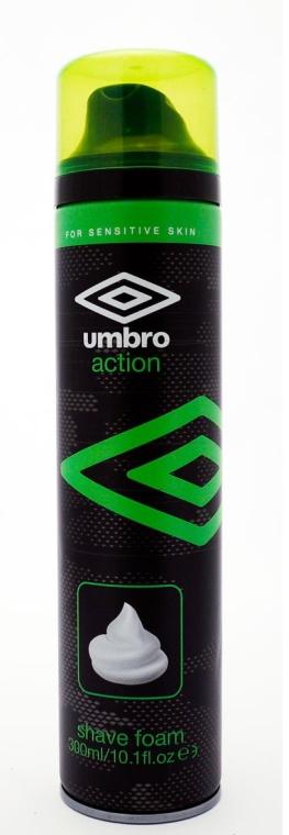 Spumă de ras - Umbro Action Shaving Foam