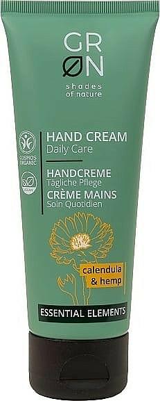 Cremă hidratantă de mâini - GRN Essential Elements Calendula&Hemp Hand Cream — Imagine N1