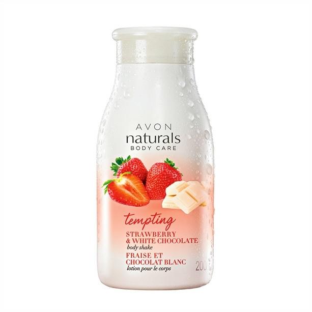 """Loțiune de corp """"Căpșună și Ciocolată albă"""" - Avon Naturals"""