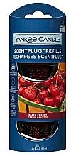 Parfumuri și produse cosmetice Rezervă pentru lampa aromatică electrică - Yankee Candle Black Cherry Refill Scent Plug