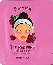 Parfumuri și produse cosmetice Patch-uri cu extract de struguri roșii - Tony Moly Red Wine Eye Mask