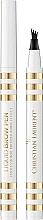 Parfumuri și produse cosmetice Creion de sprâncene cu efect de microblading - Christian Laurent Liquid Brow Pen