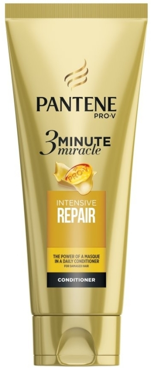 "Balsam de păr ""Protecție și restabilire în 3 minute"" - Pantene Pro-V Three Minute Miracle Repair & Protect Conditioner"
