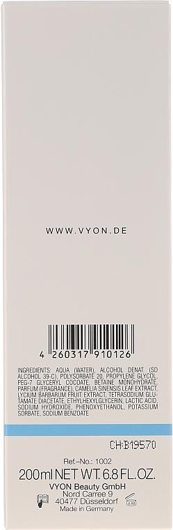 Tonic cu alcool pentru față - Vyon Tonic with Alcohol — Imagine N2