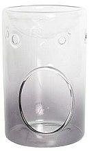 Parfumuri și produse cosmetice Lampă aromaterapie - Yankee Candle Savoy Grey Glass Wax Melt Burner