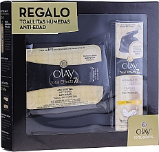 Parfumuri și produse cosmetice Set - Olay Total Effects 7 (cr/50 + wipes)