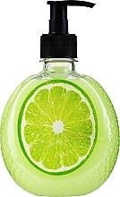 Parfumuri și produse cosmetice Săpun cremos cu extract de lime - Secrete delicioase