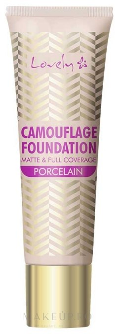 Fond de ten - Lovely Camouflage Foundation — Imagine 01 - Porcelain