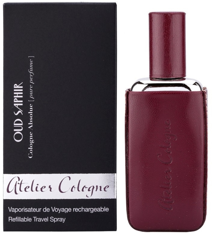 Atelier Cologne Oud Saphir Refillable Travel Spray - Apă de colonie — Imagine N1
