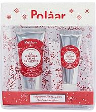 Parfumuri și produse cosmetice Set - Polaar Set (mini/hand/cream/25ml+lip/balm/10ml)