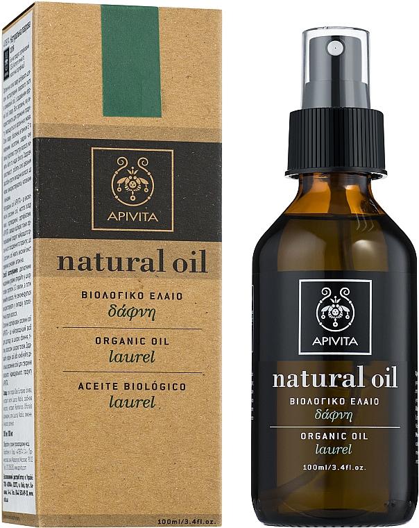 Ulei natural de dafin - Apivita Aromatherapy Organic Laurel Oil — Imagine N1