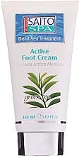 """Parfumuri și produse cosmetice Cremă pentru picioare """"Ceai verde"""" - Saito Spa Active Foot Cream Green Tea"""