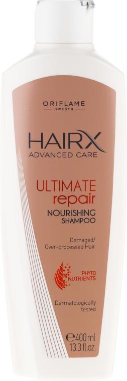 Șampon revitalizant pentru păr uscat și deteriorat - Oriflame HairX Ultimate Repair Nourishing Shampoo — Imagine N3