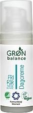Parfumuri și produse cosmetice Cremă de zi pentru față - Gron Balance Day Cream