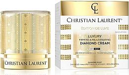 Parfumuri și produse cosmetice Cremă de față, cu efect de fermitate și întinerire - Christian Laurent Luxury Firming&Rejuvenating Diamond Cream