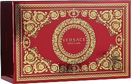 Parfumuri și produse cosmetice Versace Eros Flame - Set (edp/100ml + edp/10ml + pounch)