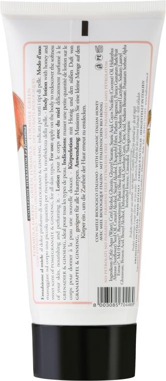 Loțiune de corp - La Florentina Pomegranate & Ginseng Body Lotion — Imagine N2
