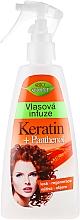 Parfumuri și produse cosmetice Spray de păr - Bione Cosmetics Keratin + Panthenol Hair Infusion