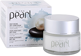 Parfumuri și produse cosmetice Cremă de zi anti-îmbătrânire pentru față - Diet Esthetic Micro Pearl Day Face Cream SPF 15