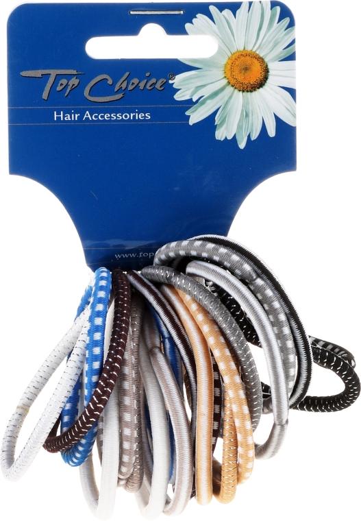 Set elastice de păr 20 buc., 22289 - Top Choice — Imagine N1