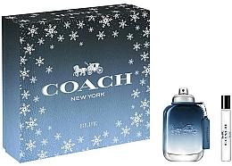 Parfumuri și produse cosmetice Coach Blue - Set (edt/60ml+ edt/7.5ml)