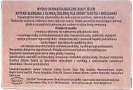 Săpun dermatologic cu argilă verde - Bialy Jelen Apteka Alergika Soap — Imagine N3