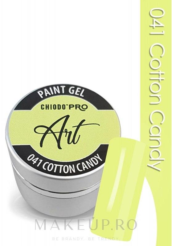 Gel unghii - Chiodo Pro Art Paint Gel — Imagine 041 - Cotton Candy