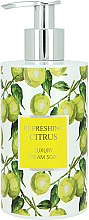 Parfumuri și produse cosmetice Săpun lichid - Vivian Gray Refreshing Citrus Cream Soap
