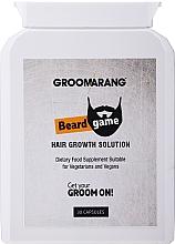 Parfumuri și produse cosmetice Supliment nutritiv pentru creșterea bărbii - Groomarang Beard Growth Natural Accelerator Tablet